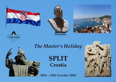 Master's holiday - Croatia 2018