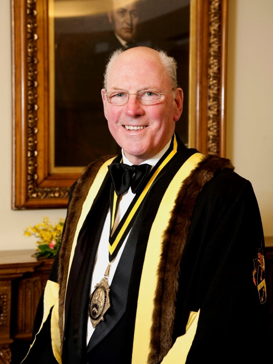 Past Master, John Owen-Ward